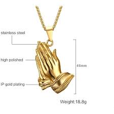 praying necklace the six praying necklace gold 39 97 usd road to