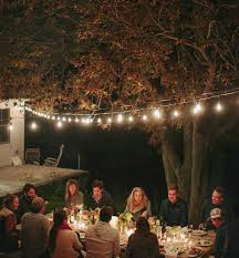 a backyard dinner party in charleston entertaining idea of the