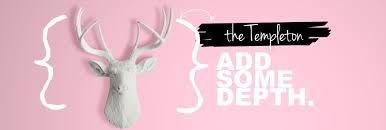 white faux taxidermy animal heads deer heads to unicorn wall mounts