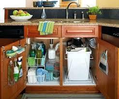 under sink storage solutions easiest under the sink organizer hack