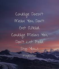 quotes about change wallpaper photo collection courage does not exist