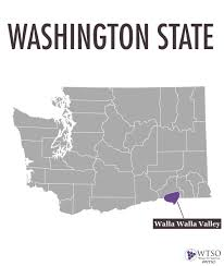 Washington Wineries Map by Introduction To The Regions And Wines Of Washington State U2014 Wtso