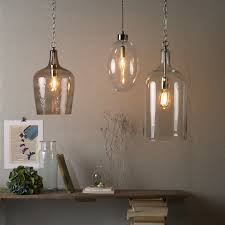 large glass pendant lights for kitchen large glass pendant light with regard to kitchen cool 3 island