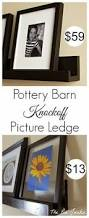 Rustic Wood Ledge Pottery Barn Picture Ledge Diy Book Ledge Kids Rooms And Books