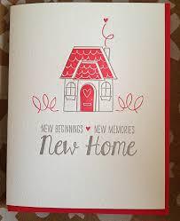 housewarming card new home card housewarming card letterpress new home card