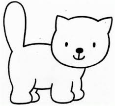 Cat Coloring Pages For Kids Preschool And Kindergarten Cat Coloring Pages