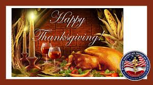 happy thanksgiving to all pams members and friends
