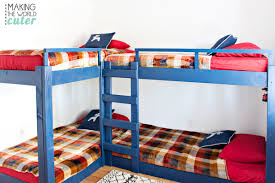 Four Bunk Bed Room Reveal