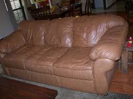 Sealy Leather Sofa Sealy Leather Couch For Sale