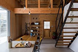 Japanese Home Interior Design by Contemporary House In Japan Mimics The Appeal Of A Renovated