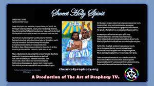 Holy Spirit My Comforter Sweet Holy Spirit Poetry And Movie Youtube