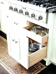 installing pull out drawers in kitchen cabinets walmart kitchen cabinets pot lid storage pull out drawers kitchen