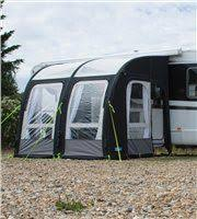 Small Caravan Awnings Kampa Rally Air Pro 390 Plus Inflatable Caravan Awning 2017