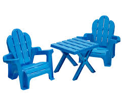 Plastic Table And Chairs Adirondack Table U0026 Chairs American Plastic Toys