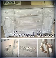 beautiful bow front buffet refinished in heirloom traditions