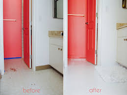 Before And After Bathrooms Brilliant Painting Bathroom Tile Before And After 43 For With