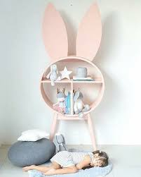 bunnies in kids interiors décor wallpaper decals plushtoys