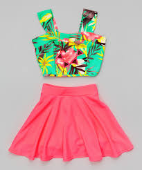 zulily s boots size 9 look what i found on zulily just mint floral crop top set