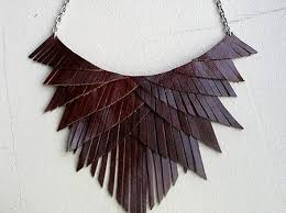 jewelry leather necklace images Diy accessories using leather jpg