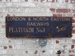 Woods Vintage Home Interiors Vintage Railway Platform Hook Sign Board By Woods Vintage Home
