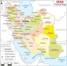 map or iran maps of iran bizbilla