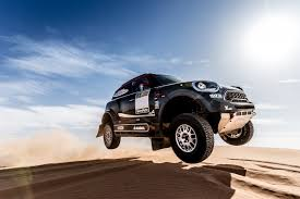 land rover dakar mini u0027s new jcw rally car for dakar 2017 has a bmw straight six