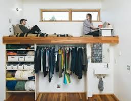 petit dressing chambre 1001 idées comment aménager une chambre mini espaces