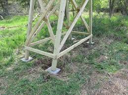 Deer Hunting Tower Blinds Tower Deer Stand Project Ron U0027s Outdoor Blog
