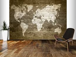 mural on wood world map on wood wall mural wall murals wood walls and room set