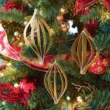 beautiful easy diy ornaments made with cardstock or scrapbook