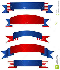 Flag Red White Blue Horizontal Stripes Usa Patriotic Banner Banners Illustration 41047542 Megapixl