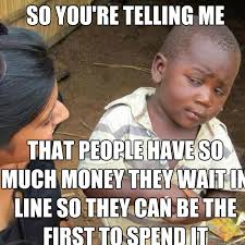 Meme African Kid - funny meme many takes skeptical looking third world kid