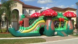 party rentals miami combos cinnamonstixx party rentals miami bounce house rental