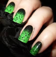 green black nail art gallery nail art designs