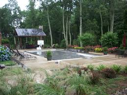 pavilion pool and landscape patios decks garden newest small back