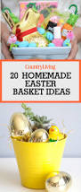 Gardening Basket Gift Ideas by 20 Cute Homemade Easter Basket Ideas Easter Gifts For Kids And