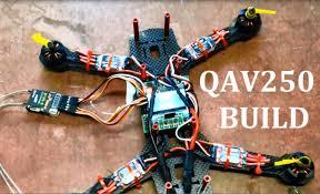 qav250 fpv quadcopter build mystery 12a esc emax 1806 2280kv