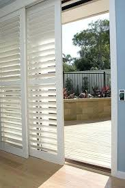 Curtains For Sliding Doors Ideas Superb Sliding Door With Blinds Photos In Combination Patio