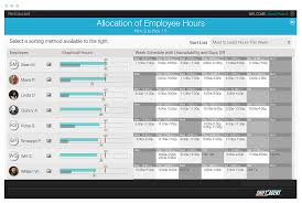 employee scheduling by shift agent