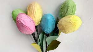 Easter Decorations With Plastic Eggs by Easter Egg Tulips Grandparents Com