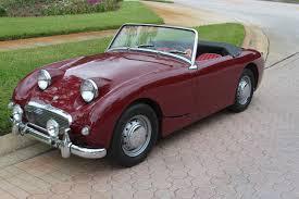 1959 austin healey bugeye sprite sold vantage sports cars