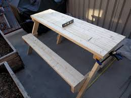Diy Folding Wooden Picnic Table by Creative Diy Folding Bench Ideas For Small Balcony Hgnv Com