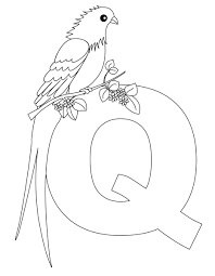 letter coloring pages to print alphabet preschool animal queen