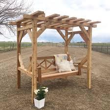 Swing Arbor Plans Diy 20x20 Pavilion Myoutdoorplans Free Woodworking Plans And