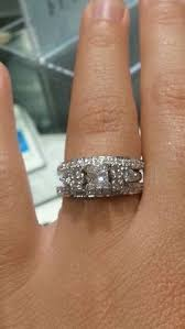 Wedding Ring Wraps by This Woman U0027s Insert Is Beautiful I Want This Someday Wedding