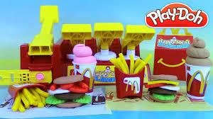 cuisine mcdonald jouet pâte à modeler play doh mcdonald s meal playshop playset