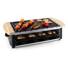 appareil cuisine appareil a raclette 8 personnes plaque grill barbecue cuisine