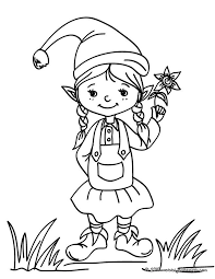 coloriage lutin pere noel  Recherche Google  Christmas Coloring