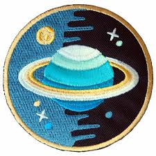shop amazon trim u0026 embellishments saturn stars universe embroidered iron on patch