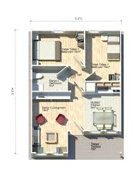 Square Meters by Petunya 51 Square Meters Floor Plan Kit Homes Pinterest